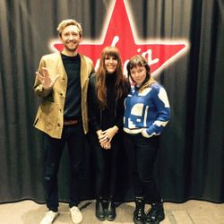 Georgie Rogers Music Discovery with guest Sylvan Esso on Virgin Radio