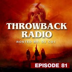 Throwback Radio #81 - DJ CO1 (Halloween Mix)
