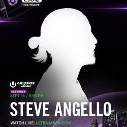 Steve Angello LIVE @ Ultra Music Festival Japan 2017 Day 1