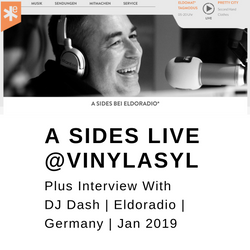 A Sides Live On  VinylAsyl (Eldoradio) Germany - Jan 2019