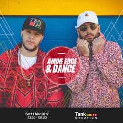 2017.03.11 - Amine Edge & DANCE @ Tank, Sheffield, UK