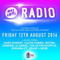 onelove radio 12th August 2016