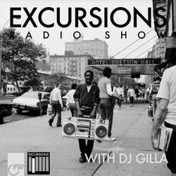 Excursions Radio Show #12 with DJ Gilla - Sept 2012