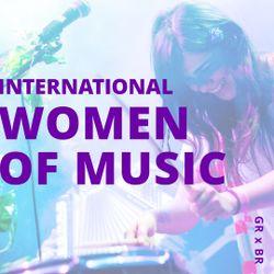 DJ SESSIONS - INTERNATIONAL WOMEN OF MUSIC