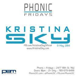 Kristina Sky Live @ Phonic (Washington DC) [05-09-14]