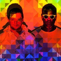 Africa Hitech (Warp Records) @ Nachtdigital 15, Bungalowdorf Olganitz - Dresden (03.08.2012)