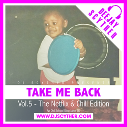 Take Me Back - Vol.5 - The Netflix & Chill Edition (Old School Slow Jams) - @DJScyther