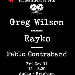 Pablo Contraband live @ Disco Deviant (Oct 28 2011)