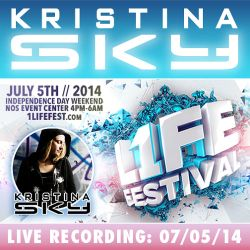 Kristina Sky Live @ 1Life Festival [07-05-14]