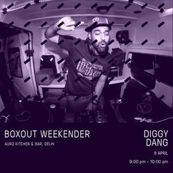Diggy Dang Live @ Boxout Weekender [08-04-2018]