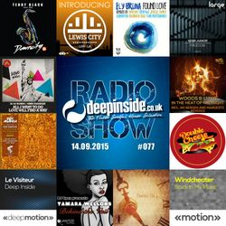 DEEPINSIDE RADIO SHOW 077 (Double Cheese Records Label of the week)