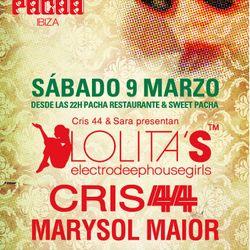 Marysol Maior & Cris 44 / Especial Lolitas en Club Ibiza / Ibiza Sonica