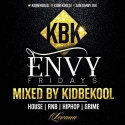 KIDBEKOOL   #Envy Fridays @ Levana Bar Birmingham
