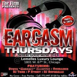 A Night @ Lemelle's - The Firm presents Eargasm Thursdays - 21 January 2016