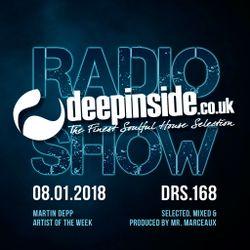 DEEPINSIDE RADIO SHOW 168 (Martin Depp Artist of the week)