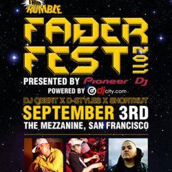 FADER FEST 2011 - DJ Shiftee