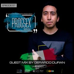 PROGSEX #57 - Guest mix by GERARDO DURAN on Tempo Radio Mexico (19-10-2019)