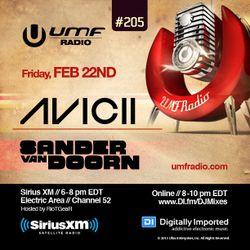 UMF Radio 205 - Avicii & Sander Van Doorn