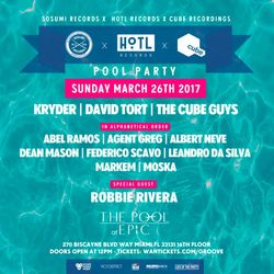 The Cube Guys @ Sosumi x HoTL Records x Cube Recordings Miami Pool Party