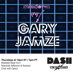 Mixdown with Gary Jamze October 18 2019- Chat with Opiuo