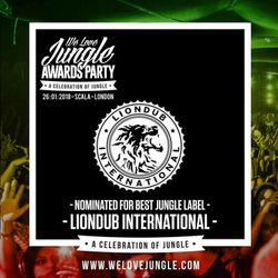 LIONDUB - 01.10.18 - KOOLLONDON [WE LOVE JUNGLE AWARDS - LIONDUB LABEL SHOWCASE]