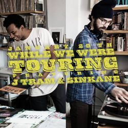 Sinkane & JayTram - While We Were Touring - Dust & Grooves Vinyl Residency @ Donna - 01.29.2015