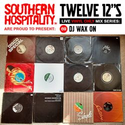 Twelve 12's Live Vinyl Mix: 69 - DJ Wax On