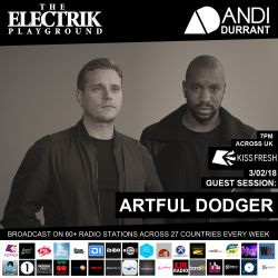 Electrik Playground 3/2/18 inc. Artful Dodger Guest Session