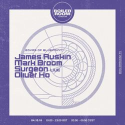 20 Years of Blueprint - 03- James Ruskin (Blueprint, Tresor) @ Ldn (04.10.2016)
