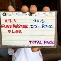 Saturday Night Street Jam w/Funkmaster Flex Hot 97 WQHT January 15, 1994