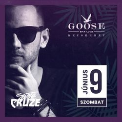 Sante Cruze Live @ Goose Bar, Kecskemet (2018-06-09)