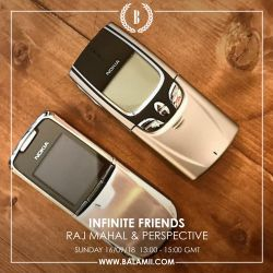Infinite Friends w/Raj Mahal & Perspective 16/09/18