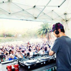 Tiga at Piknic Electronik Barcelona. 09.08.2015 (DJ Set)