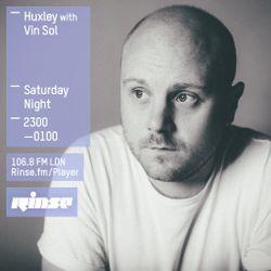 Rinse FM Show - Huxley w/ Vin Sol - 18th April 2015