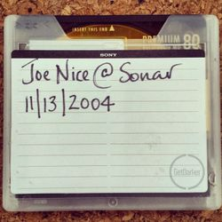Joe Nice & MC Twisty - Sonar Festival - 13/11/2004