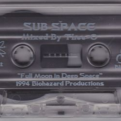 Thee-O - Sub Space. Orbit 1 (Full Moon In Deep Space) side.b 1994