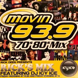 DJ Icy Ice - Movin 93.9 FM Rick's Mix (Freestyle Edition)