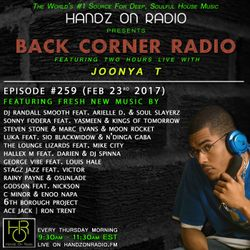 BACK CORNER RADIO: Episode #259 (Feb 23rd 2017)