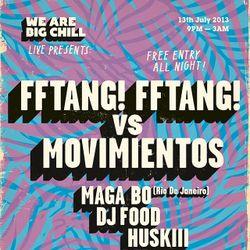 FFTANG! FFTANG! Vs. Movimientos Mix