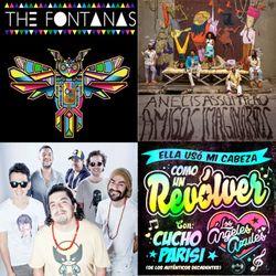 Movimientos show: 1/1/15 w/ Los Angeles Azules, Bareto, Pernett, Anelis Assumpção, The Fontanas
