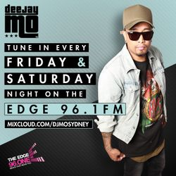 The E D G E - 96.1 M I X M A S T E R - MIX103 (24.AUG - 25.AUG.18)