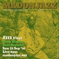 MADONJAZZ #113 - African Jazz Sounds vol. III