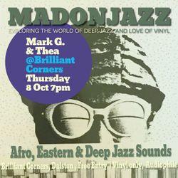 MADONJAZZ @ Brilliant Corners 8 OCT 15 - warm up mix