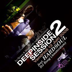 DEEPINSIDE SESSION TOUR feat DJ ROOG / HARDSOUL @ QUEEN CLUB Paris (Part.2)