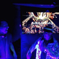 Arcadia London Warm Up Party - 02 - Calyx & Teebee (RAM) @ Work Bar Nightclub - London (04.04.2018)