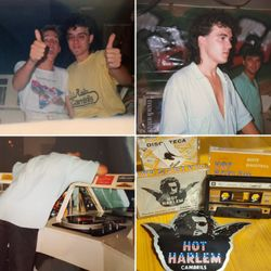 "DJ Jose live recorded at Club ""Hot Harlem"", Cambrils (Spain) January 1986 (R.I.P. DJ Jose)"