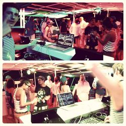 ALFONSO ARES / Live on the Magic Circus 5 Star Catamaran / 11.08.2013 / Ibiza Sonica