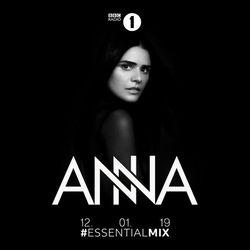 DJ Anna (Kompakt Extra, NovaMute, Clash Lion) @ BBC Radio 1s Essential Mix, BBC Radio 1 (12.01.2019)