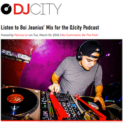 03b69b17962361 Boi Jeanius for DJ CITY 2016