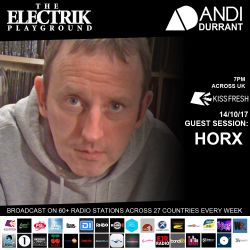 Electrik Playground 14/10/17 inc. Horx Guest Session